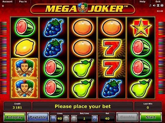 Играть без регистрации от казино мега джокер бездеп в казино за регистрацию