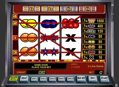 Игровой автомат Sizzling Hot (Сизлинг Хот, Семерки