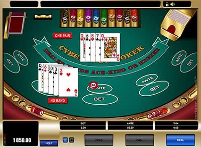 спин казино карточные игры