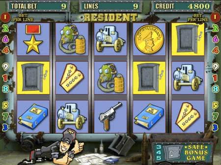 автоматы игровые резидент играть бесплатно онлайн